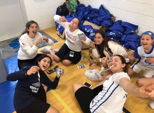 Girls Teams Bond at Basketball Shabbaton