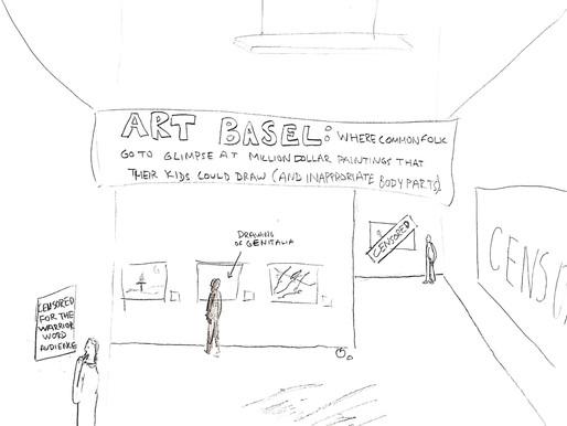 Cartoon: What Art Basel is Like