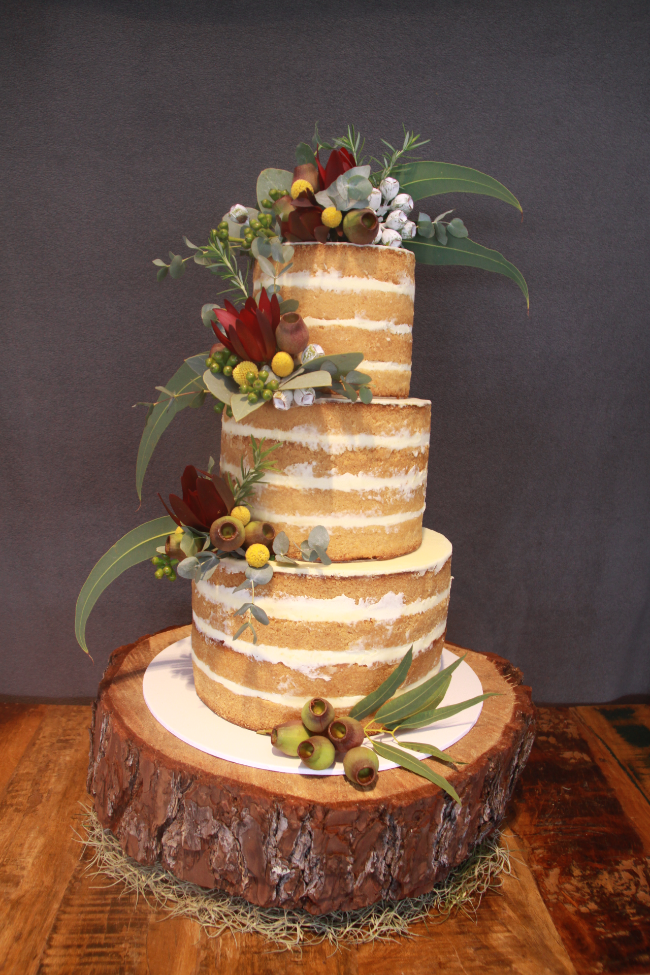 Native Naked Cake