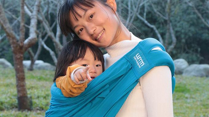 輔導員實習中,袋式揹巾和無彈性長布