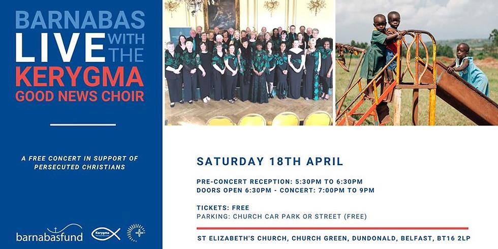 Barnabas Live with the Kerygma Good News Choir