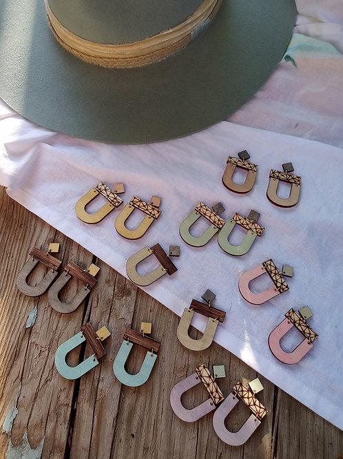 Wood Jewelry - Upgrade Earrings - Modern - Boho