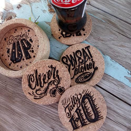 Rad Dad Coasters - Designed by Cory Say