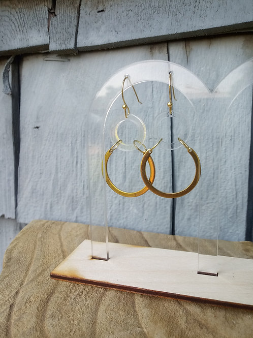 Acrylic Jewelry - Clearly Cool - Hook Earring