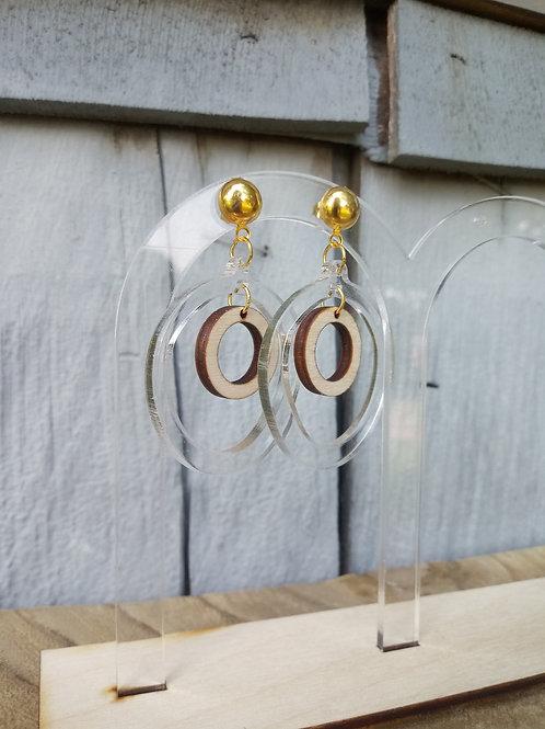 Acrylic Jewelry - Hoopy Hoop - Modern Earring