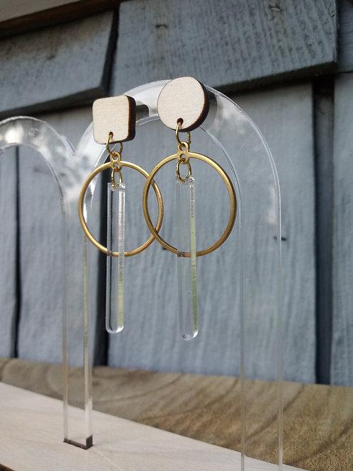 Acrylic Jewelry - Mixed Pair - Modern Earring