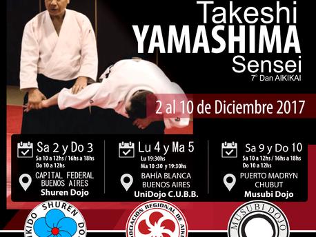 2 al 10 de Diciembre - Seminario Takeshi Yamashima Sensei -  7mo Dan.