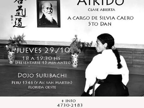 29 de Octubre - Clase abierta a cargo de Silvia Caero 5to Dan.