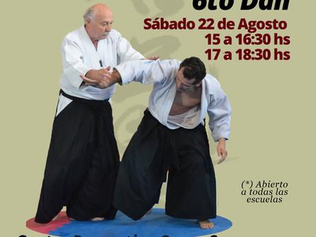 22 de Agosto - Seminario dictado por Luis Guz Sensei 6to Dan - Rosario, Sta Fe.