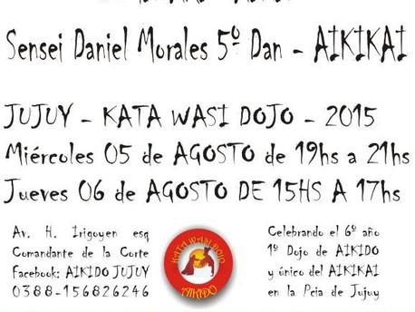 5 y 6 de Agosto - Seminario Daniel Morales - Jujuy