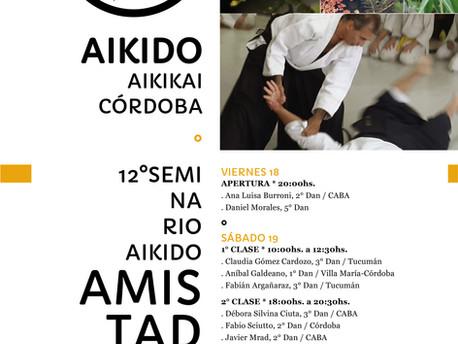 18,19, y 20 de Enero - 12º Seminario Aikido Amistad - Córdoba