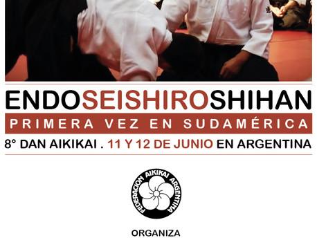 11 y 12 de Junio - Seminario Endo Sensei, 8vo Dan.