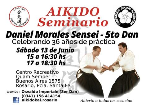 13 de Junio - Seminario Daniel Morales | 36 años de práctica