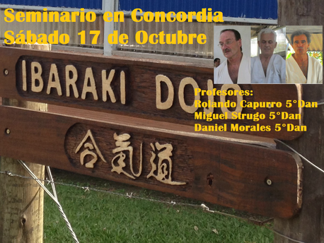 17 de Octubre - Seminario en Concordia - R. Capurro, M. Strugo y D. Morales.