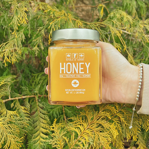 1 lb. Vermont Wildflower Honey