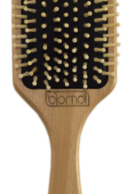 Brosse coiffante en bambou Bomoï