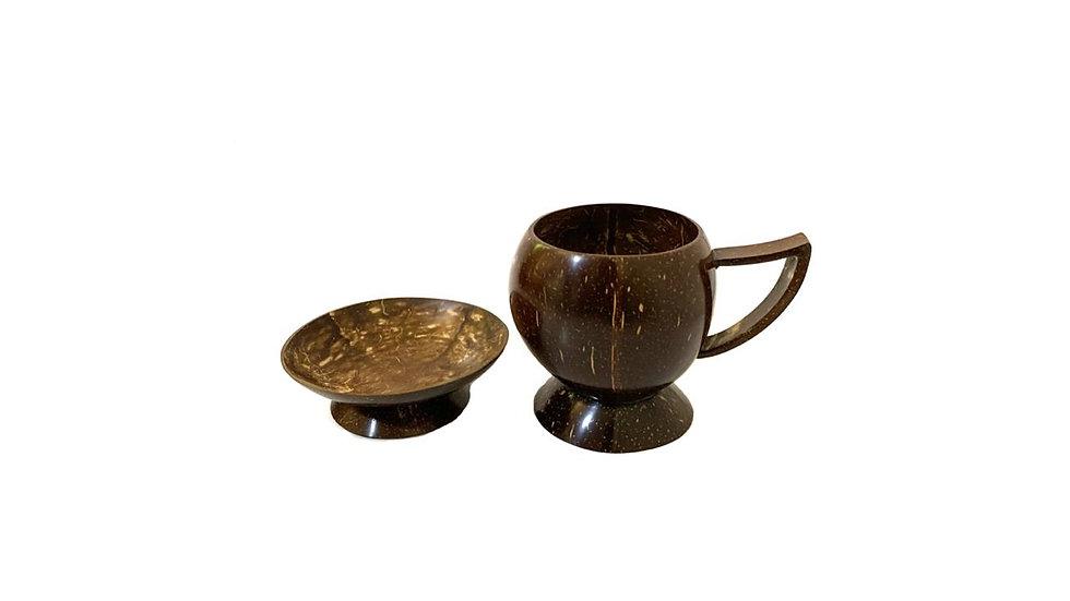Polished  Coconut Pot