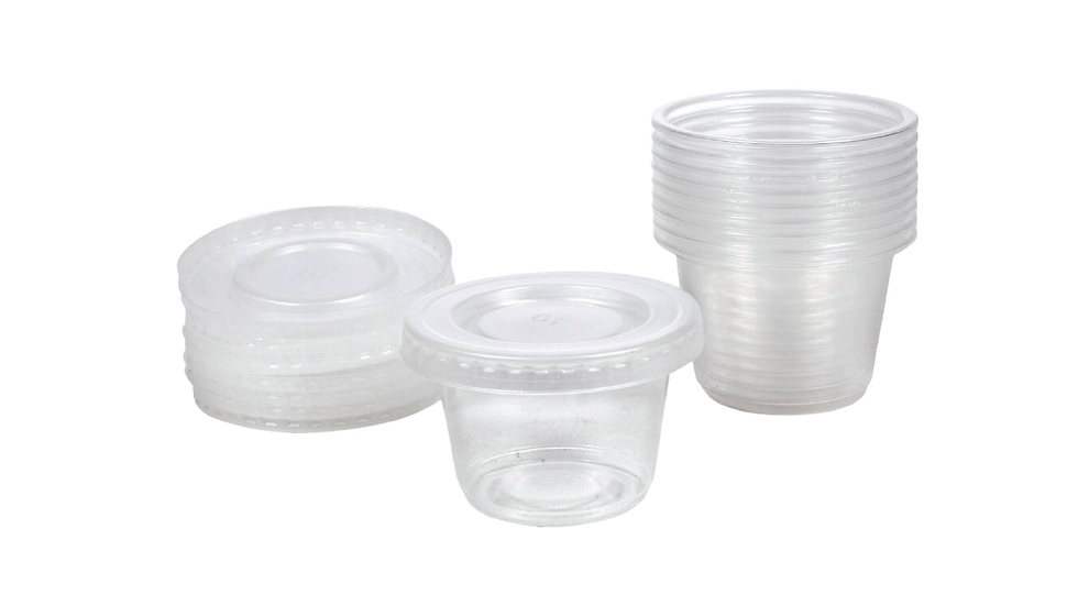 Plastic Sauce Containers