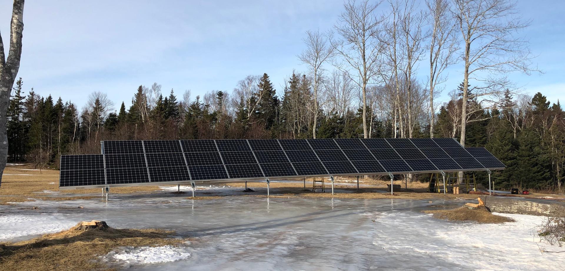 40kW Residential Ground Mount Solar