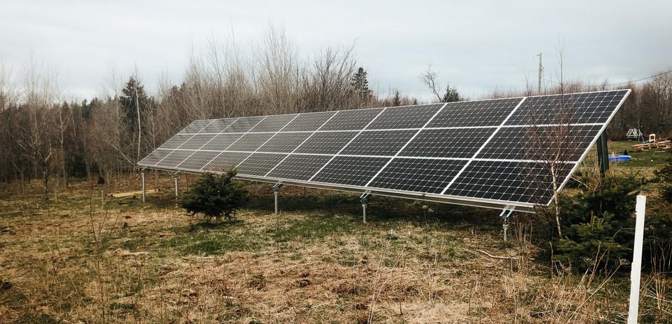 11.7kW Ground Mount Solar Installation