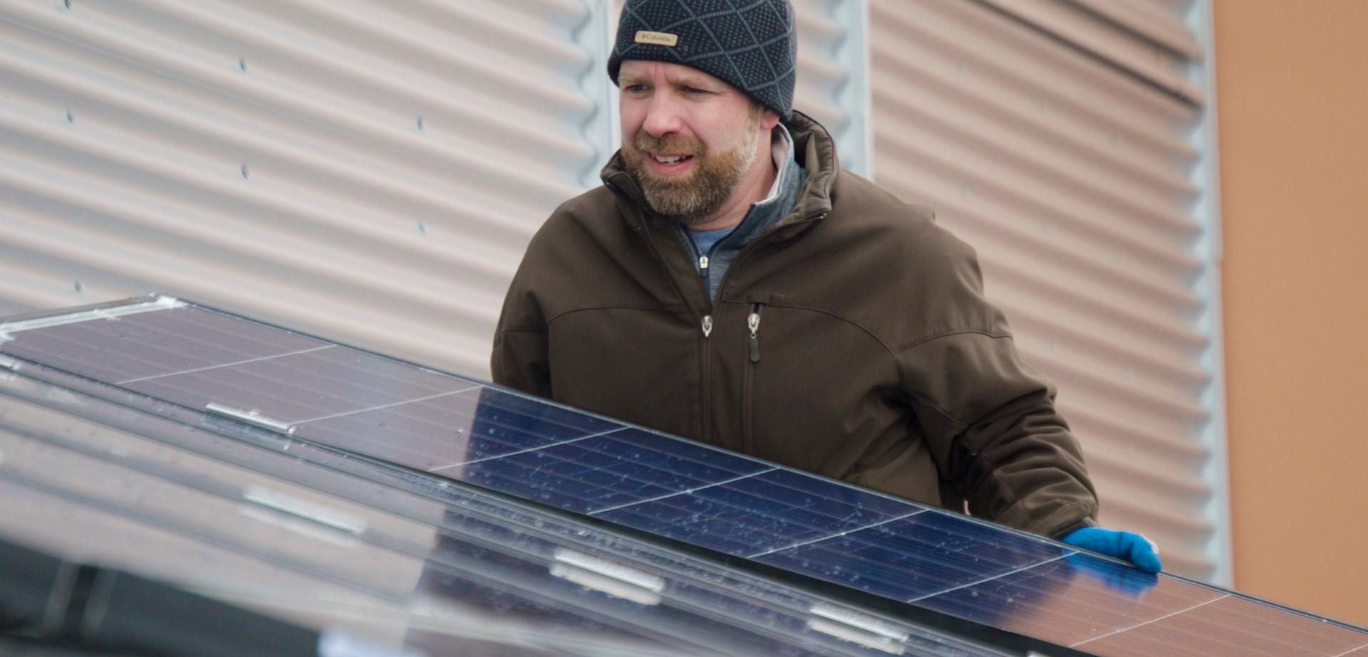 3.2kW Solar Array at UPEI
