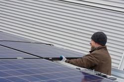 3.2Kw Solar Install at UPEI