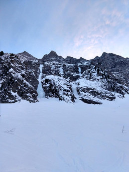 Eisfälle in der Brennerregion