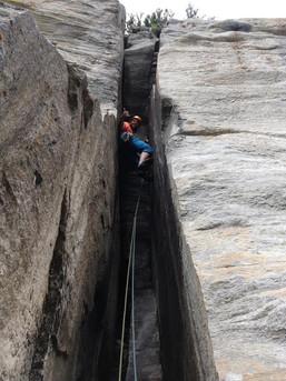 Klettern im Zillertal Granit