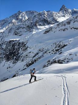 Skitour im Sellrain