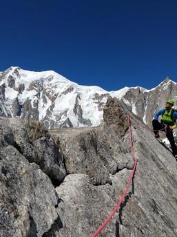 Traumhaftes Wetter im Mont Blanc Massiv