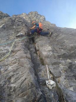Klettern im Lechtal