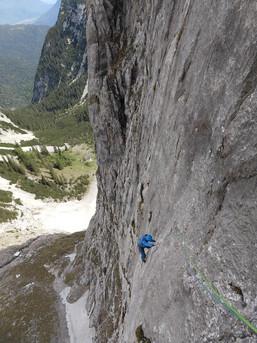 Im Oberreintal - Ein Eldorado für Alpine Mehrseillängenrouten