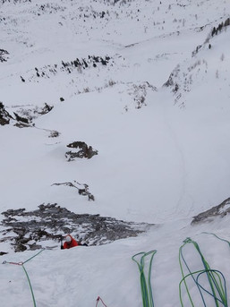 Eisklettern mit Bergführer