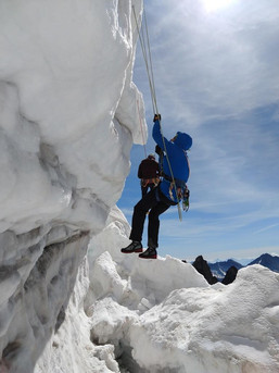 Selbstrettung aus der Gletscherspalte