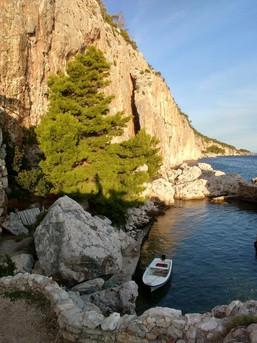 Traumhaftes Klettergebiet direkt am Meer in Kroatien