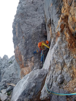 Klettern an der Scharnitzspitze