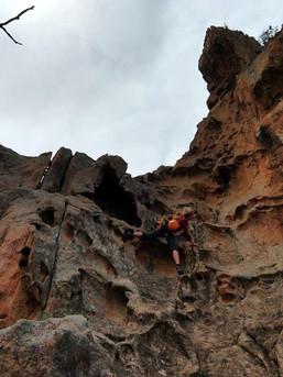 Tafoni - schön griffiger Granit auf Korsika
