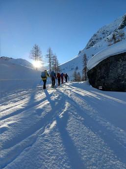 So muss ein Skitourentag anfangen