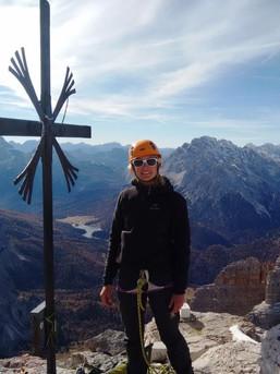 Immer großartige Ausblicke in den Dolomiten