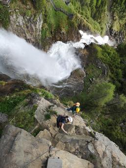 Im Ötztal gibt´s spektakuläre Klettersteige