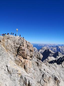 Zugspitz- Gipfel