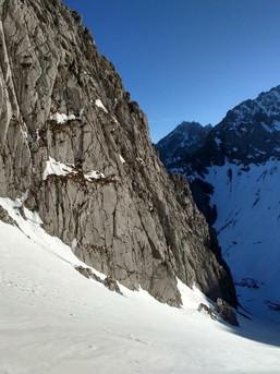 Frühjahrsskitour im westlichen Karwendel - Viererkar