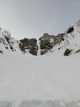 Mittelteil der Route Moonwalk im Valsertal