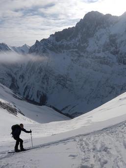 Wahnsinns Stimmung auf Tour im Karwendel