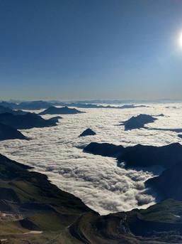 Über den Wolken in der Schweiz