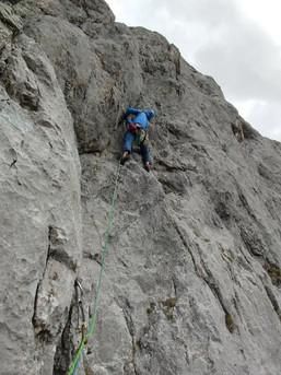 Klettern im westlichen Karwendel