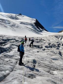 Hochtourenkurs für Fortgeschrittenen an der Tierbergli Hütte - Schweiz