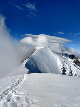 Gipfelgrat am Piz Palü