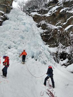 Eisfall im Rauriser Tal