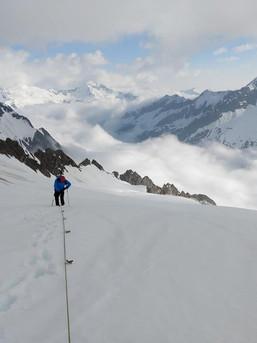 Am Seil durch die Zillertaler Alpen
